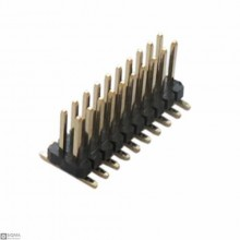 100 PCS 2X10 SMD Male 1.27mm Pin Header