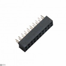 100 PCS 1X40 Curved Male 2mm Pin Header