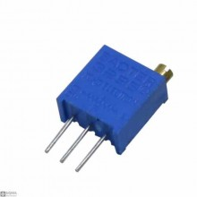 100 PCS 3296W 1M Adjustable Resistor