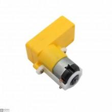 3 PCS L Shape DC Gear Motor [3V-6V] [115rpm]