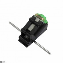 20 PCS Two Axis Bevel DC Motor with Reduction Gearbox [3-6V]