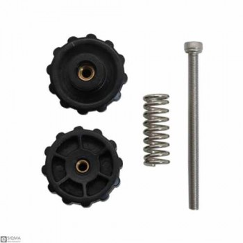 5 PCS 3D Printer Heat Bed Twisted Leveling Nut