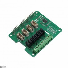12 Bit ADC shield for Raspberry Pi [8-Channel 12 Bit]