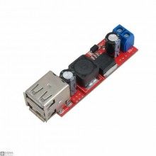 Dual USB Channel DC-DC Step Down Regulator Module [5V] [3A]