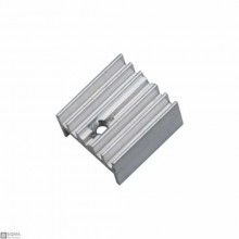 50 PCS Silver Aluminum TO220 Heat Sink