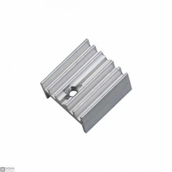 50 PCS Silver Aluminum TO220 Heat Sink