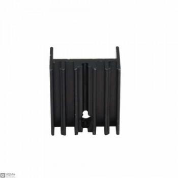 50 PCS Black Aluminum TO220 Heat Sink