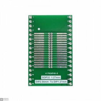 5 PCS SO32 SOP32 to DIP32 Adapter Board