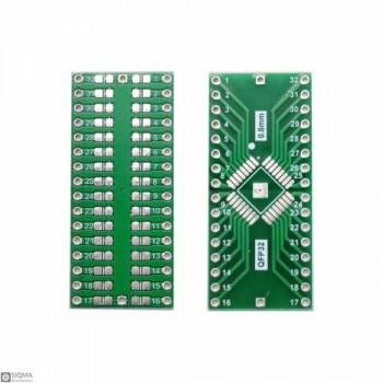 10 PCS QFP32 to DIP32 Adapter Board