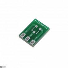 50 PCS SOT23 to DIP3 Adapter Board