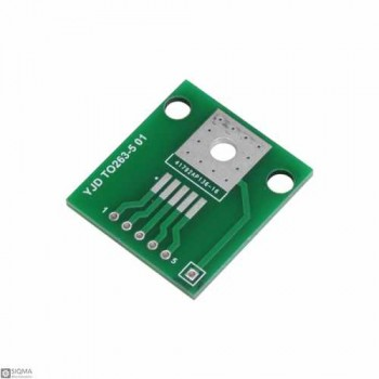 10 PCS TO263-5 to DIP5 Adapter Board
