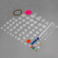 Plastic Gears And Pulleys Pack [85 Pieces]