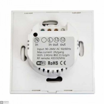 Sonoff T1 WiFi and RF Wall Touch Light Switch