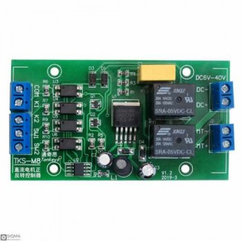 DC Motor Positive and Negative Driver Module [6V-40V] [20A]